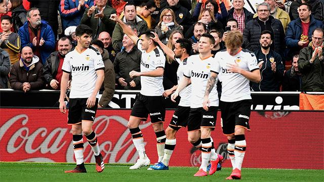 Así ha narrado la radio el primer gol del Valencia