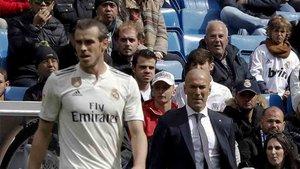 Bale está señalado en el Real Madrid