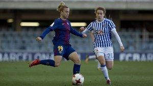 Bárbara Latorre abandona la disciplina del Barça.