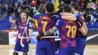 El Barça sumó la decimocuarta victoria consecutiva