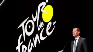 Christian Prudhomme, director del Tour de Francia