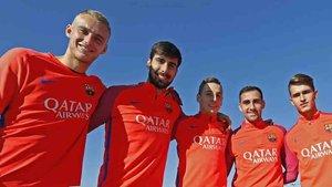 Cillessen, Gomes, Digne, Alcácer y Denis han sido traspasados esta temporada
