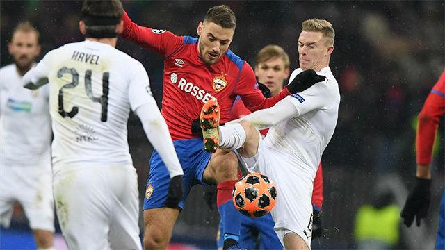 El CSKA de Moscú se autodescarta de la Champions ante el Viktoria Plzen