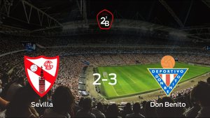 El Don Benito derrota en el Estadio Jesús Navas al Sevilla At. (2-3)