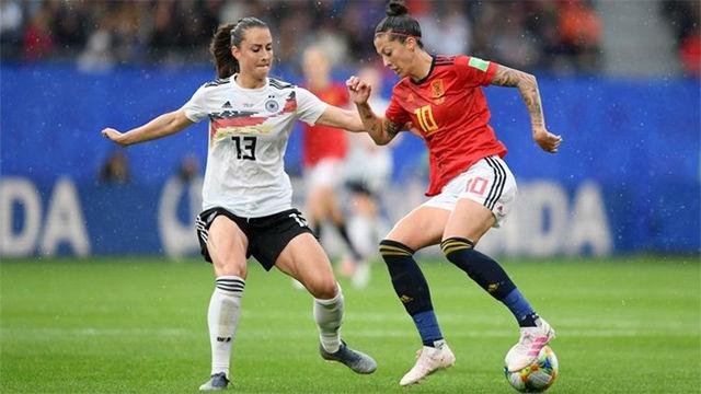 España cae por la mínima ante Alemania (1-0)