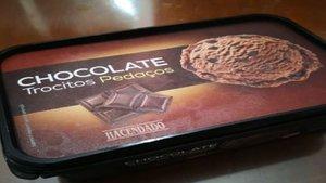 Esto es lo que se encontró al abrir una caja de helado de chocolate del Mercadona