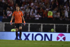 Franco Armani no pudo evitar la derrota de River Plate