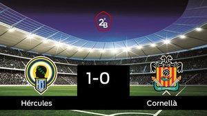 El Hércules derrotó al Cornellà por 1-0
