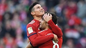 James Rodríguez no ha tenido la temporada que esperaba con el Bayern Munich