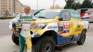 Jesús Calleja, listo para su tercer Dakar