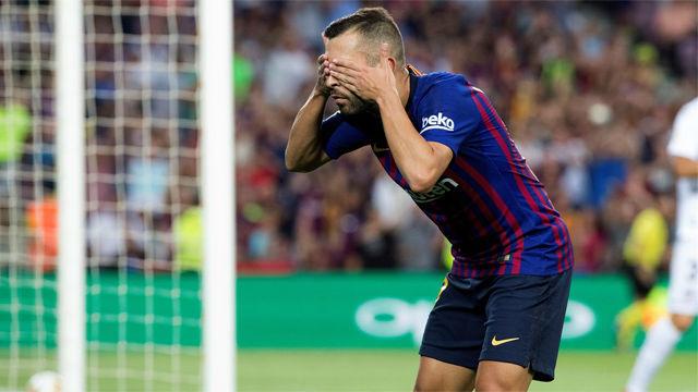 Jordi Alba, el lío que viene