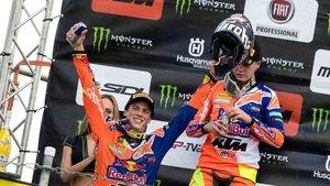 Jorge Prado, flamante campeón del mundo de motocross