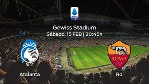 Jornada 24 de la Serie A: previa del encuentro Atalanta - AS Roma