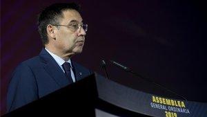 Josep Maria Bartomeu se refirió a las informaciones referidas a I3 Ventures