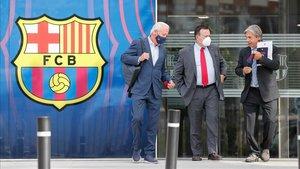 La junta gestora ya trabaja para que el Barça tenga nuevo presidente