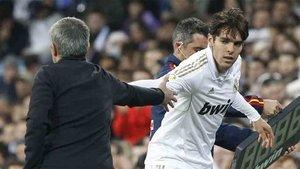 Kaká tuvo problemas con Mourinho en el Real Madrid