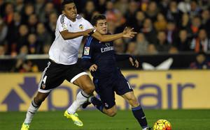 Kovacic en el partido frente al Valencia