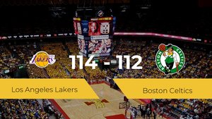 Los Angeles Lakers consigue la victoria frente a Boston Celtics por 114-112