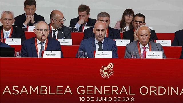 Luis Rubiales: Vamos a conseguir que esta Federación sea la mejor del mundo