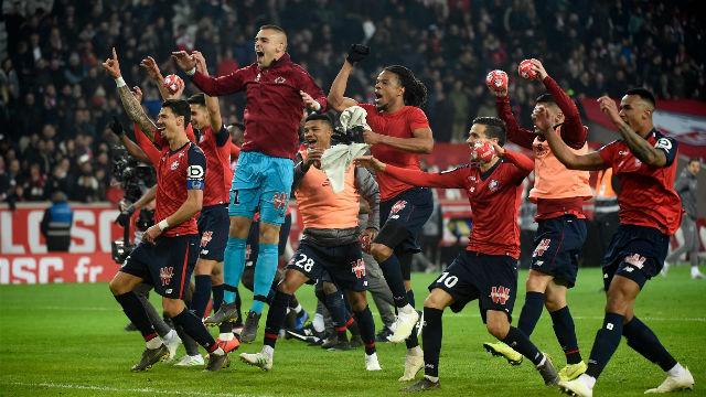 Manita del Lille al PSG