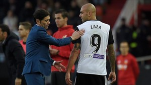 Marcelino volverá a confiar el gol a Zaza
