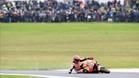 Márquez se ha ido al suelo en la décima vuelta del GP de Australia