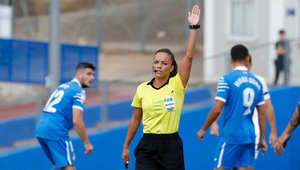 Marta Huerta ha sido la primera mujer en debutar en Segunda B