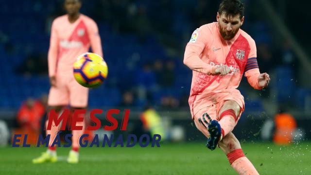 Messi sigue haciendo historia como azulgrana: el argentino es el futbolista más ganador del Barcelona