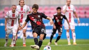 Müller anotó la pena máxima