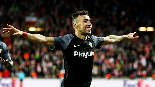 Munir se lució con un golazo estéril en el Slavia-Sevilla