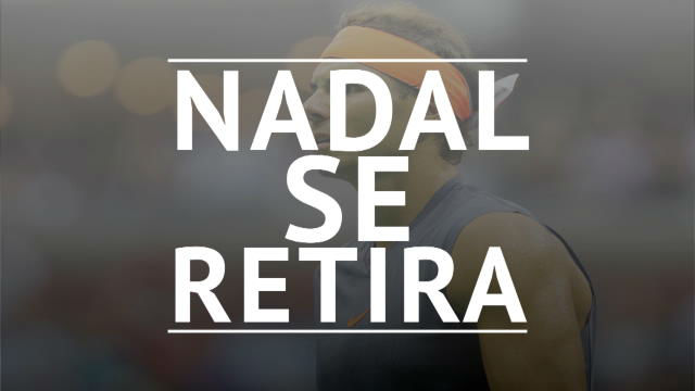 Nadal se retira lesionado de la semifinal del US Open