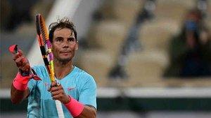 Nadal no tuvo problemas en su debut en Roland Garros