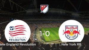 El New England Revolution vence en casa al New York RB por 1-0