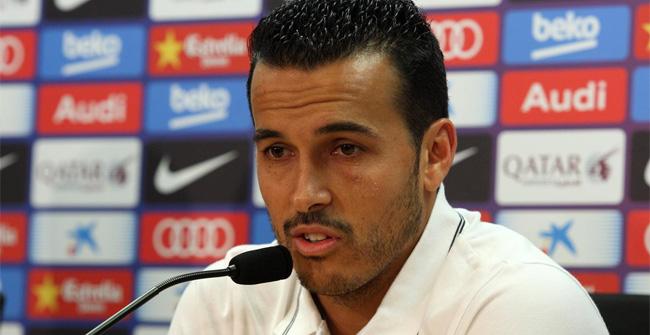 Pedro se despidió de la afición en una última rueda de prensa