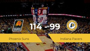 Phoenix Suns se lleva la victoria frente a Indiana Pacers por 114-99