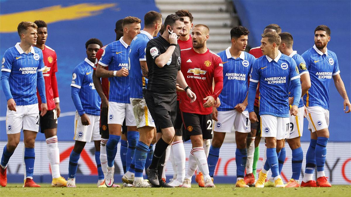 La polémica final que da la victoria al Manchester United