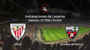 Previa del encuentro: el Bilbao Ath. recibe en su feudo al Arenas de Getxo