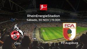 Previa del partido: el Colonia recibe en casa al FC Augsburg