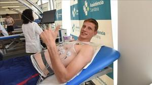Pustovyi, feliz de recalar en el Barça Lassa
