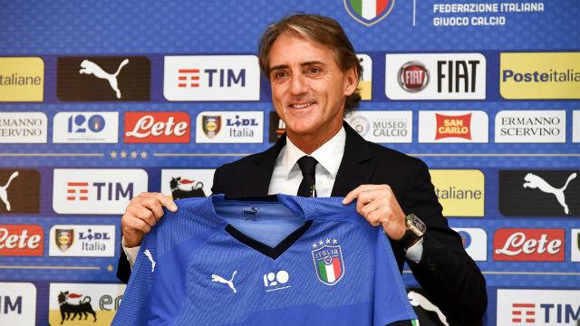 Roberto Mancini, agradecido por la confianza para liderar Italia