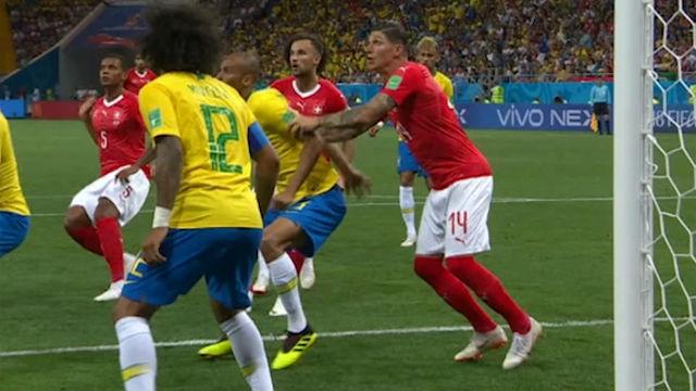 Rusia 2018 | El polémico gol con el que Suiza empató el partido