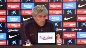 Setién: No se puede estar en mejor sitio que en el Barça
