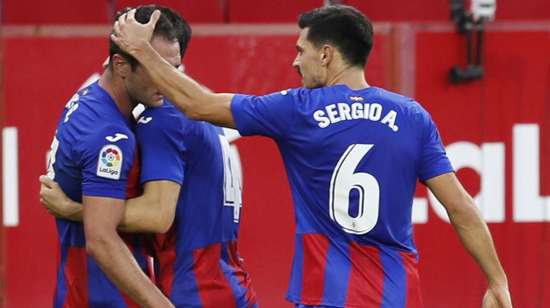 El Sevilla cae ante el Eibar