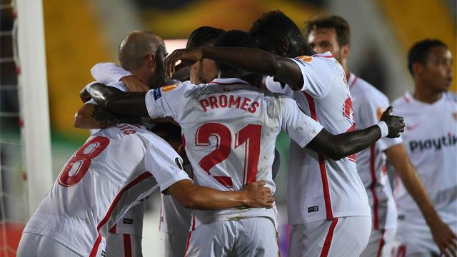 El Sevilla sufrió para ganar en Turquía