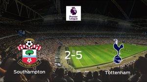 El Tottenham Hotspur se lleva la victoria tras golear 2-5 al Southampton