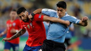 Uruguay y Chile cerraron la fase de grupos