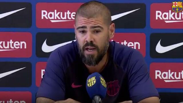 Valdés habló sobre el próximo partido del Juvenil