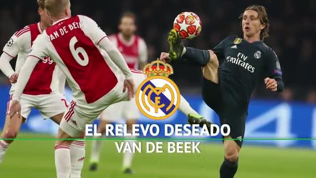 Van de Beek, el tulipán que seduce al Real Madrid