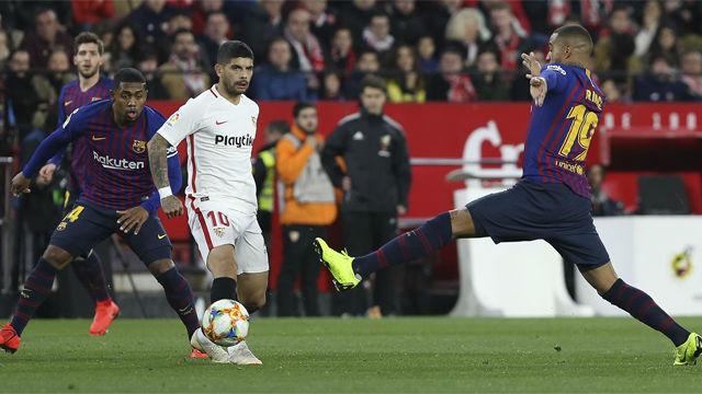 Vea las notas de los jugadores del Barça ante el Sevilla