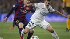 Verratti se midió ante el FC Barcelona en la Champions